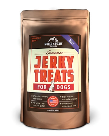 Jerky Treats from Rocco and Roxie