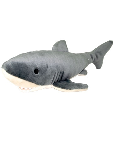 Shark toy from Fluff and Tuff