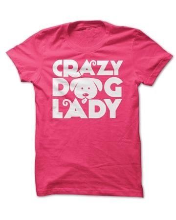 """Crazy Dog Lady"" shirt by Sunfrog Shirts"