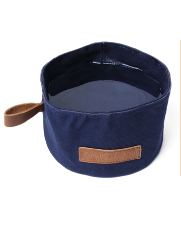 Reuseable canvas dog bowl by United By Blue