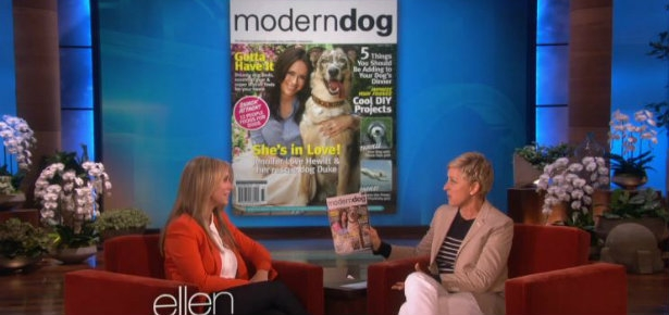 Jennifer Love Hewitt on Ellen