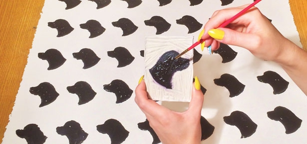 Diy Craft Stamp It Modern Dog Magazine