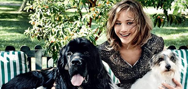 Jennifer Lawrence Poses For Vogue