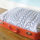 DIY Craft - Vintage Suitcase Dog Bed
