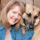Picture of Petfinder Betsy Saul with dog Tucker