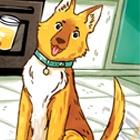 Dog tell you something