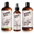 Win 1 of 5 Sofee & Co.'s natural dog grooming sets!