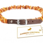 Amber Crown Tick and Flea Repellent Collar