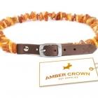 Amber Crown Tick and Flea Repellent Collar