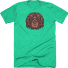 Goldendoodle Goods Newfoundland Sticker T-Shirt