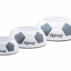 Remarkabowl Soccer Ball Dog Dish