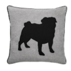 Torre & Tagus Pug Cushion