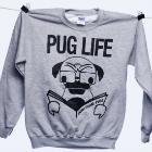 Pug Life Crew Neck Sweater