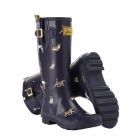 Super Sweet Joules Navy Dog Wellies
