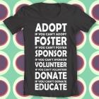 adopt t shirt