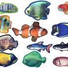 Dogline Tropical Fish Toys