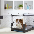 Dog Crate, Diggs, metal dog crate for dog