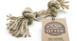 Otter Hemp Rope Bone