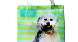 Personalized Pooch Dog Tote Bag