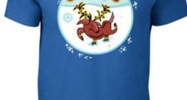 Christmas Howl-iday T-shirt